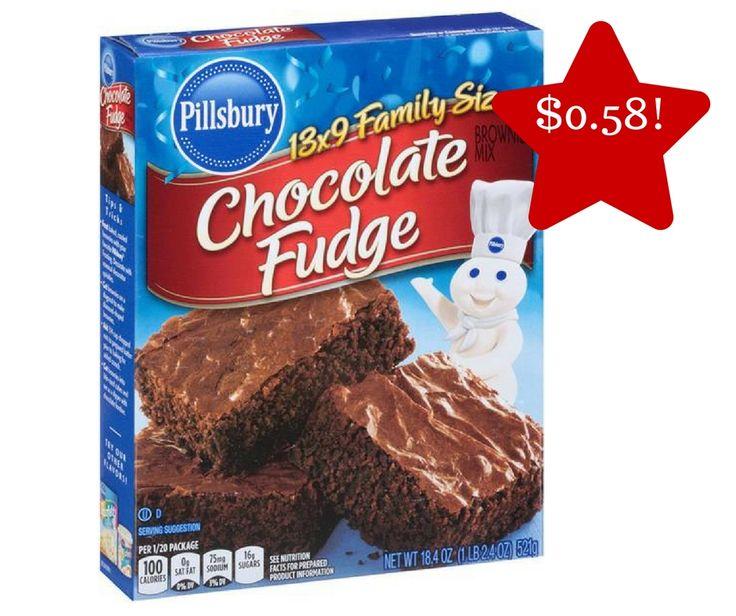 Tops: Pillsbury Brownie Mix Only $0.58 - http://www.couponsforyourfamily.com/tops-pillsbury-brownie-mix-only-0-58/