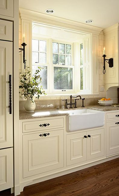 Best 25 kitchen sink window ideas on pinterest Decorating a galley kitchen