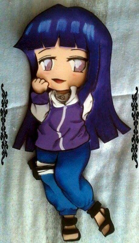 Hinata *naruto* Hecha de foamy
