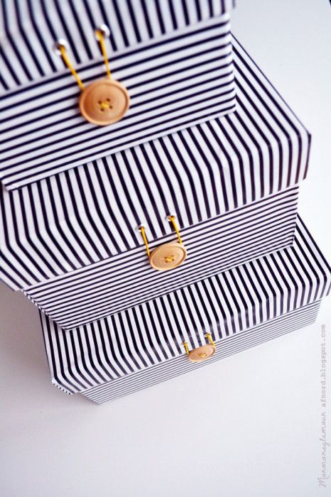 Get organized: Upcycled Shoe Boxes