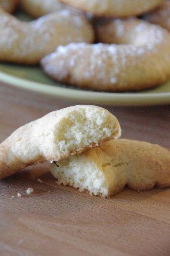 Croissants à la noix de coco