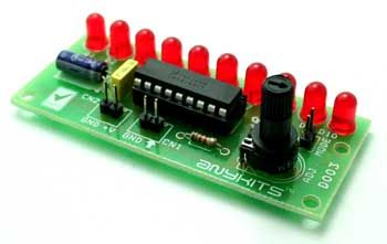 This project is a Variable Range LED voltmeter. Description This is a variable range LED bar graph voltmeter project. It is a simple and less expensive project that displays voltage of a given source with the help of 10 LED's. The project is based on the famous LM3914 IC from Texas instruments. Working The projectRead More