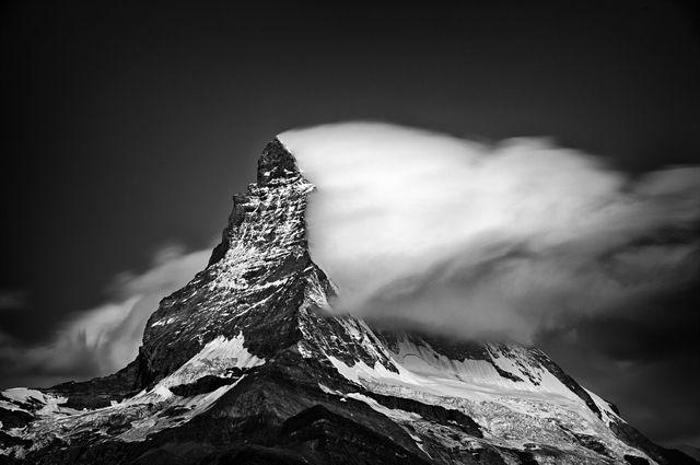 "Twilight Clouds #2 (From the Portfolio ""A Portrait of the Matterhorn"") by Nenad Saljic. Sony World Photography Awards Winner 2013"