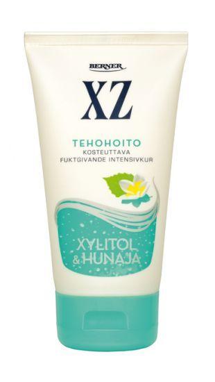 Kuivalle hiuspohjalle ja sähköisille hiuksille: Hunajainen XZ Xylitol Hunaja tehohoito  http://www.xz.fi/tuotteet/xz-xylitol-hunaja-tehohoito