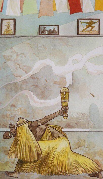 ♫ Omulu / Aiê Atotô! / É um orixá / Pede que ele dá (...) ♫
