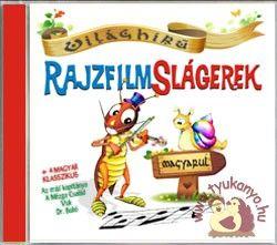 Zeneker - Világhírű rajzfilmslágerek magyarul - cd