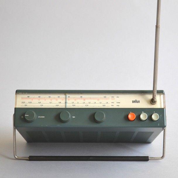 Dieter Rams . T 50, for Braun, 1961