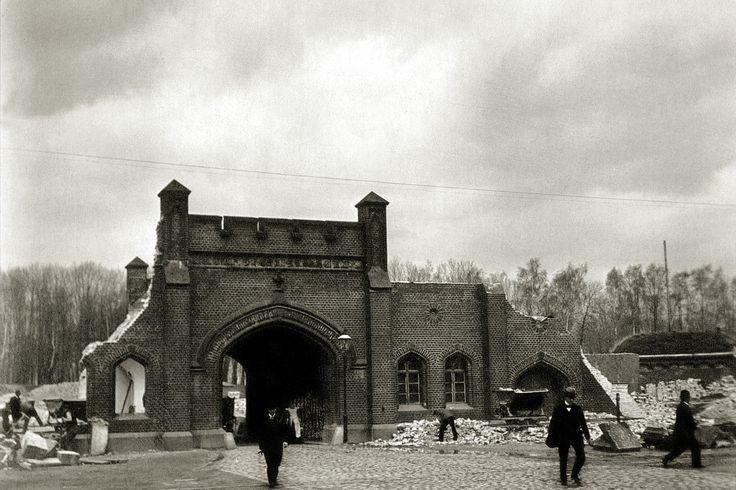 Königsberg Pr. 'Tragheimer Tor' um 1906
