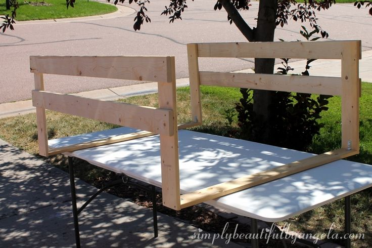 Hello everyone!  On Monday when I shared our DIY bed in this post , I promised that I would share how I made the toddler bed rails.  Guess...