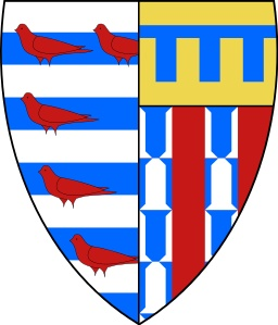 Pembroke College heraldic shield