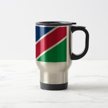 #Low Cost! Namibia Flag Travel Mug - #travel #office #gifts