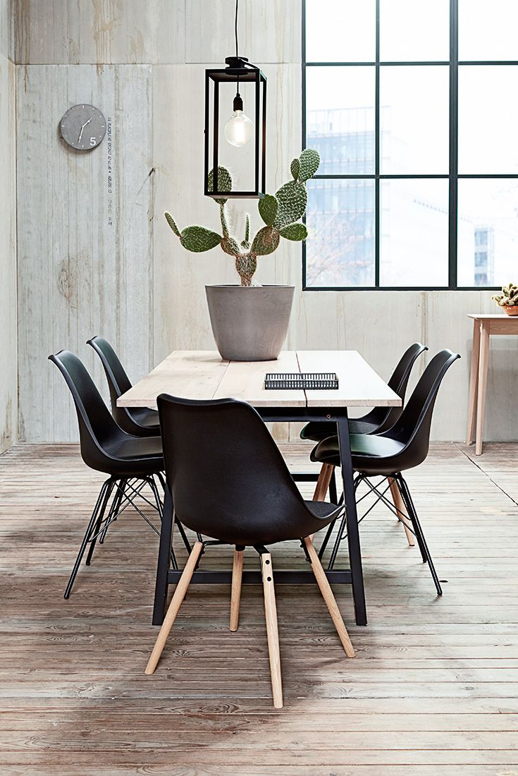 Industrial Modern dining room inspiration - Jysk