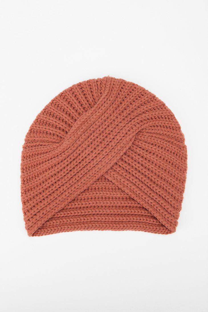 Pins and Needles Ribbed Knit Turban