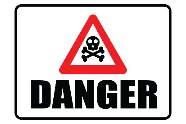 Printable Danger Sign With Danger Symbol Free PDF Download