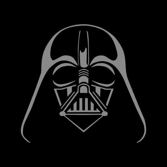 Star Wars Darth Vader Decal Sticker Silhouette Jeep Decor Accessories Dark Side Sith Vader Empire Decor Star Wars Silhouette Darth Vader Drawing Darth Vader Silhouette