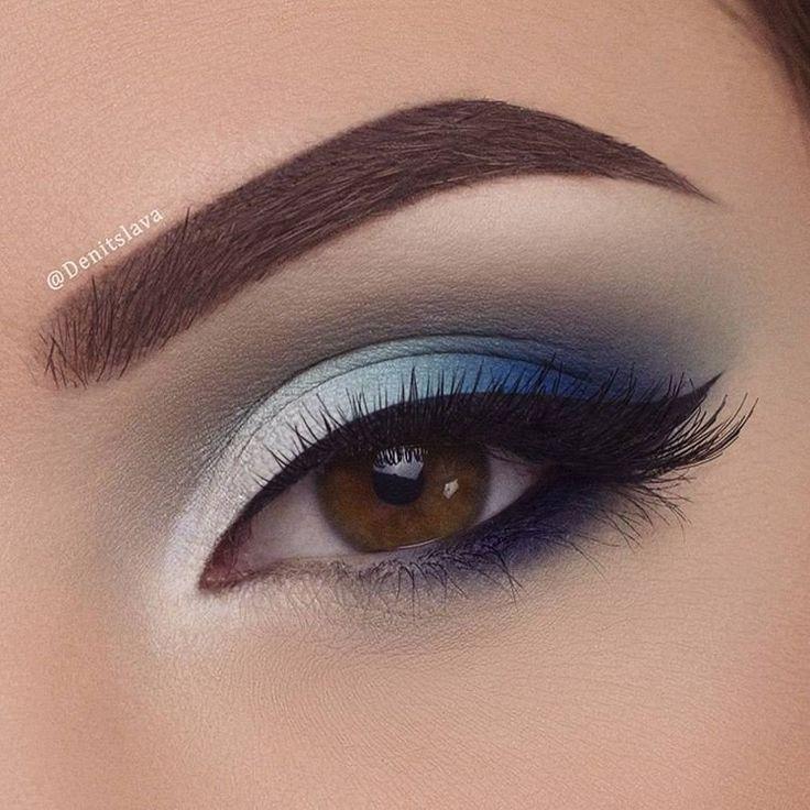 Красивый вечерний макияж для любого цвета глаз