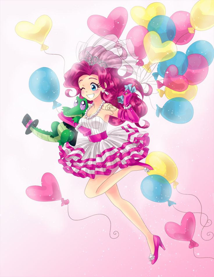 Pinkie and Gummy. So cute x3