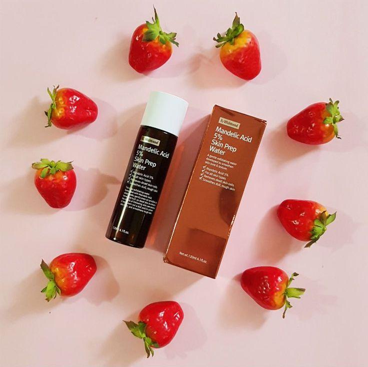 by wishtrend mandelic acid 5% skin prep water review - packaging