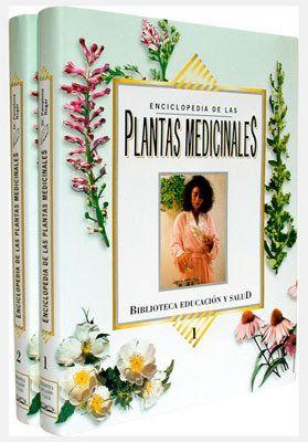 Enciclopedia de plantas medicinales portada