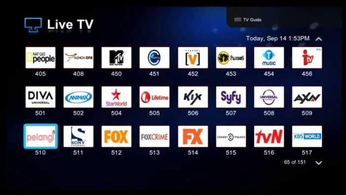 Paket Tv Indihome Internet Komunikasi