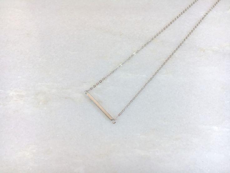 Ketting bar (sterling zilver 925)