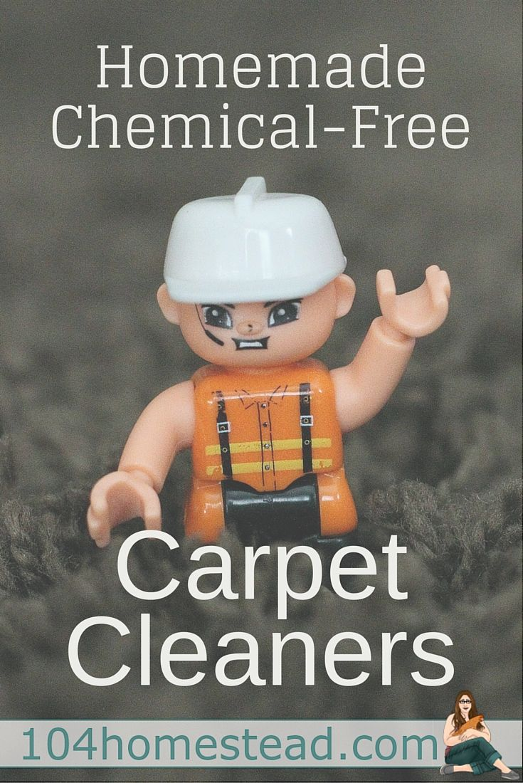Make your own chemical free carpet cleaners