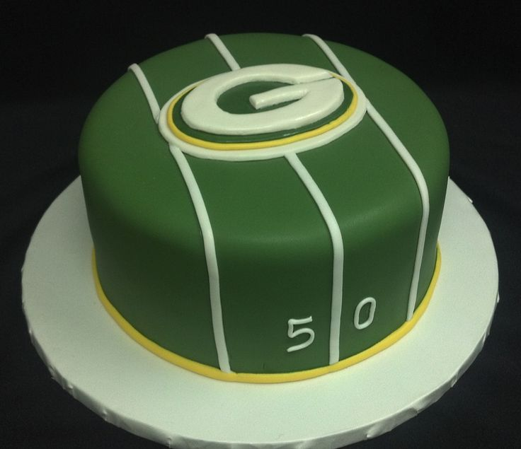 30 Best Green Bay Packers Cakes Images On Pinterest Greenbay
