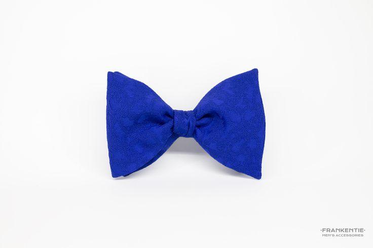 Mr. Big Blue, self tied bow tie, www.frankentie.com