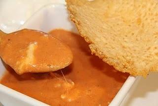 Tomato Gorgonzola Bisque #lowcarb | Vegetarian Meal ideas | Pinterest