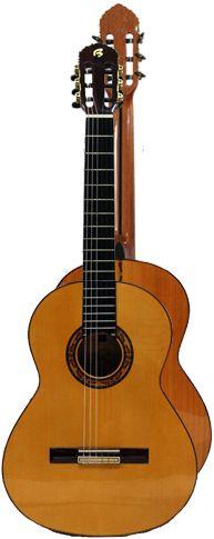 Ver Modelo Canastera I (Amarilla): Guitarra Flamenca del Constructor Francisco Bros, en el Blog de guitarra Artesana