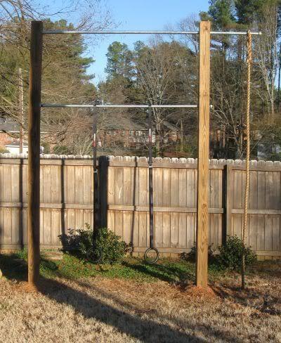 backyard crossfit backyard fitness outdoor gyms outdoor rope outdoor