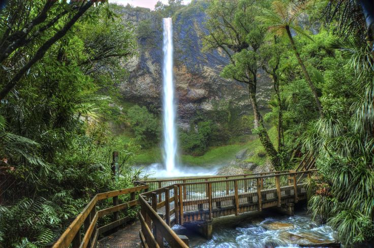 Bridal Veil Falls, Raglan ,NZ | Flickr - Photo Sharing!