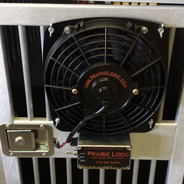 Keep Your Dog Cool With This 12volt Fan From Prairie Logic Here