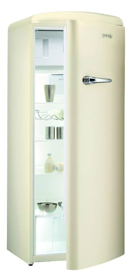 RB60299OC - Retro Champagne Freestanding Refrigerator