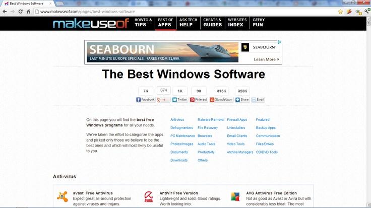 The Best Windows Software