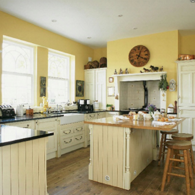 Yellow walls color reno ideas pinterest walls for 5 x 20 kitchen ideas