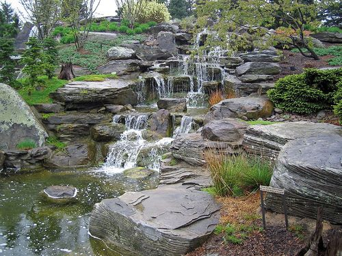 Water Garden Design 195 best gardens with waterfalls, ponds, and bridges images on