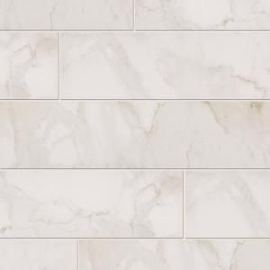 MARAZZI, VitaElegante Bianco 6 in. x 24 in. Porcelain Floor and Wall Tile (14.53 sq. ft. / case), ULP6 at The Home Depot - Mobile