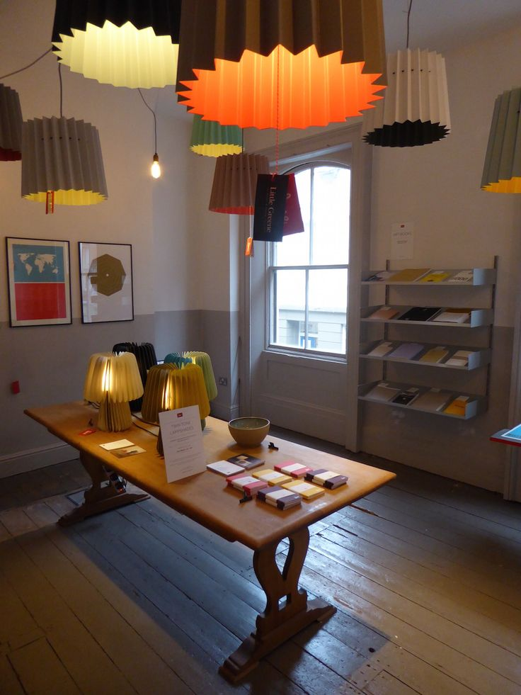 Lane Twin Tone Lampshades At Our Pop Up Shop