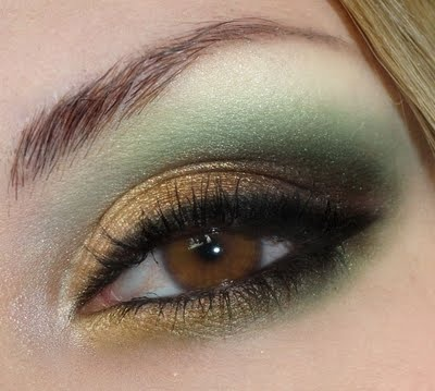 Hunger Games Katniss Everdeen Woods inspired eye makeup