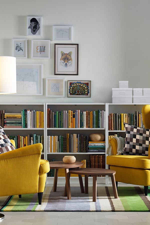 Creating Your Dream Library In Home Office Or Living Room Is Easy With The IKEA BILLY Bookcase System Comes Different Heights