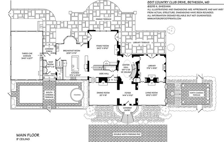 10 best images about plans on pinterest house plans for Southern mansion house plans