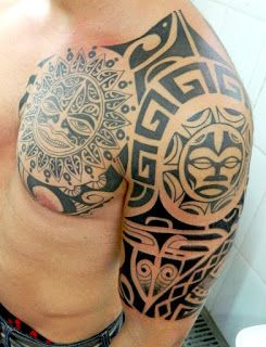 POWER DRAGON TATTOO: Maori