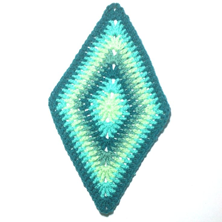 249 Best Crochet Afghans Diamond Triangle Inspired Images On