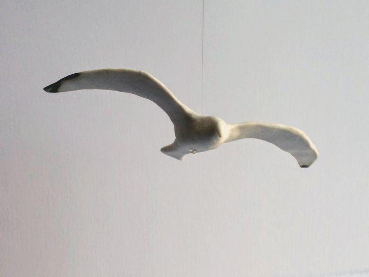 KIN: 10 Birds by 10 Designers, miniature seagull sculpture, Belinda Ormond