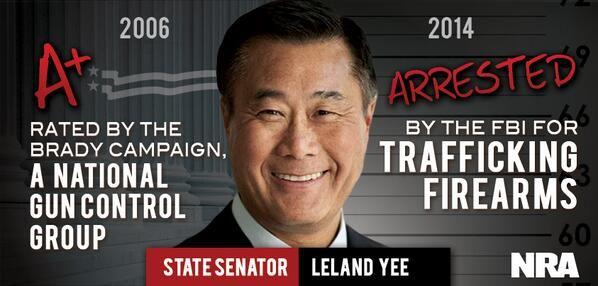 Disgraced California Democrat Gun Trafficker Leland Yee's Links to New Jersey and Muslim Terrorists