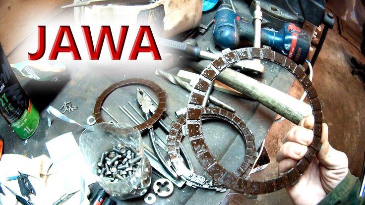 Мтоцикл ЯВА, старое сцепление