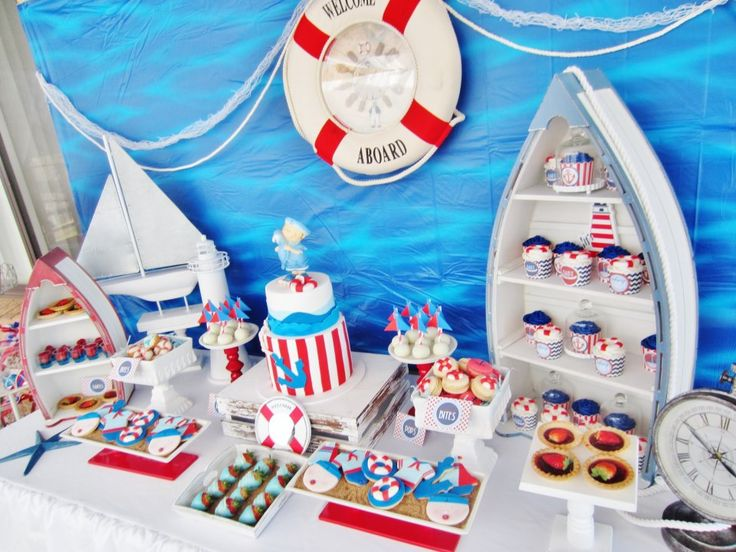 Itu0027s A Boy Nautical Baby Shower   Baby Shower Ideas   Themes
