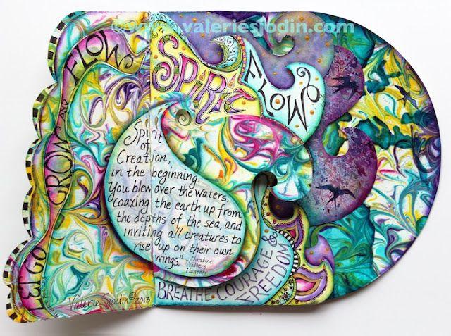 Flow Journal, visual blessings