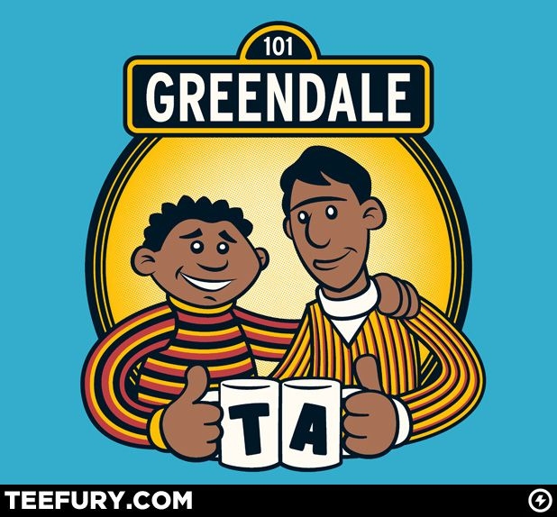 There never seems to be an end to these awesome Community t-shirts.     Good.Artists, Tees Shirts, Laugh D, Daily Shirts, Funny, Troy And Abed, T Shirts, Mornings, Tees D